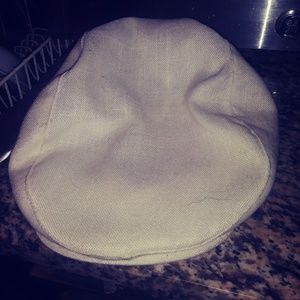 White Ascot Hat - Large made in usa